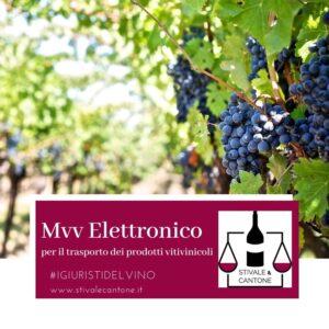 Mvv Elettronico diritto vitivinicolo i giuristi del vino