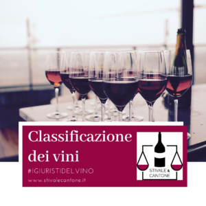 Dalla piramide della qualità alla classificazione dei vini