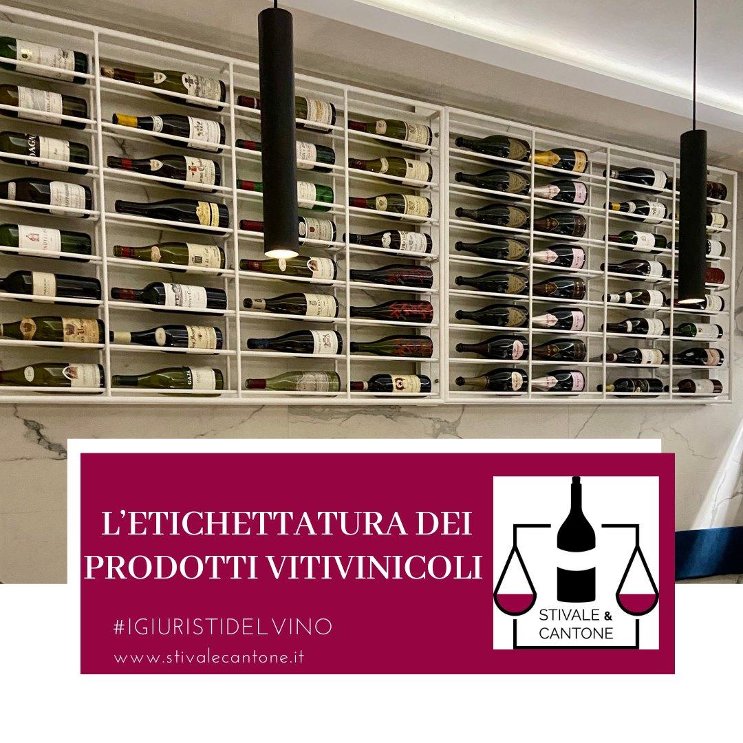 L'etichettatura del vino